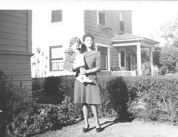 Mom with me 1946