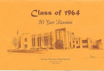 Reunion booklet